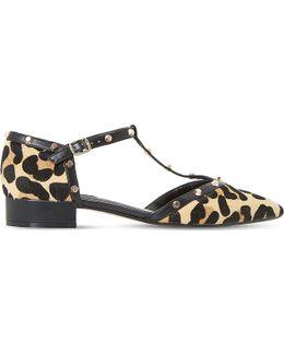 Clio Leopard Print-bar Courts