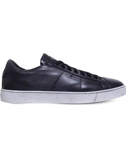 Gloria Low-rise Leather Trainers