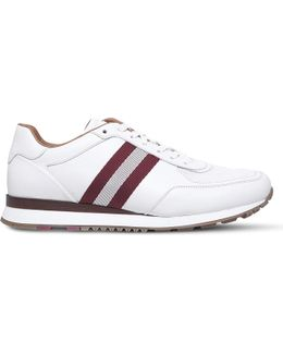 Aston Leather Trainers