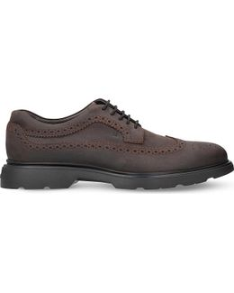H304 New Route Suede Derby Shoes