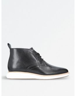 Grandevo Leather Chukka Boots