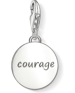 Charm Club Silver Courage Charm Pendant
