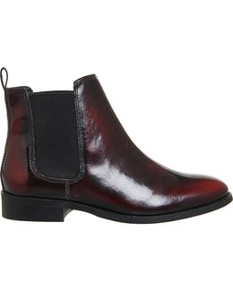 Bramble Leather Chelsea Boots