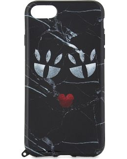 Black Marble Monster Iphone 7 Case