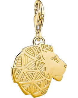 Lion 18ct Gold-plated Charm
