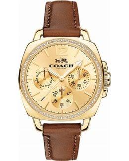 14502172 Boyfriend Leather Watch
