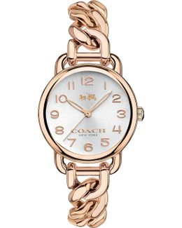 14502255 Delancey Rose Gold-plated Watch