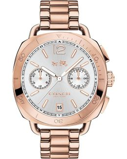 Tatum Two-tone Steel Chronograph Watch