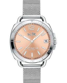 Women's Tatum Stainless Steel Mesh Bracelet Watch 34mm 14502635