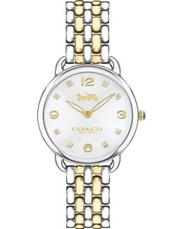 14502784 Delancey Slim Gold-plated Stainless Steel Watch