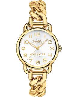 14502801 Delancey Slim Gold-plated Watch