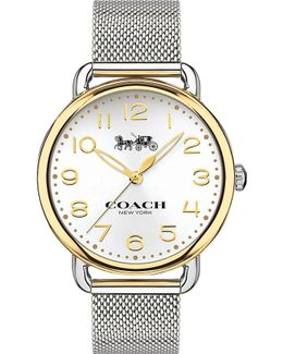 14502802 Delancey Gold-plated And Stainless Steel Watch