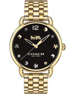 14502813 Delancey Slim Gold-plated Watch