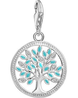 Charm Club Tree Of Love Silver Charm Pendant