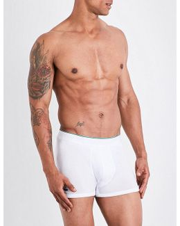 Mens Classic Pack Of Three Cotton-jersey Trunks