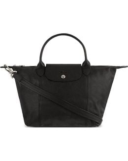 Le Pliage Cuir Small Handbag