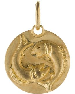 Pisces 18ct Yellow Gold Pendant