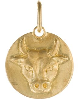 Mythology Taurus 18ct Yellow-gold Pendant