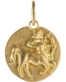 Mythology Sagittarius 18ct Yellow-gold Pendant