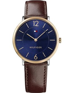 1710354 Ultra Slim Stainless Steel Watch