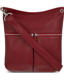 Le Foulonné Leather Cross-body Bag