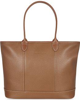Le Foulonné Leather Shoulder Bag