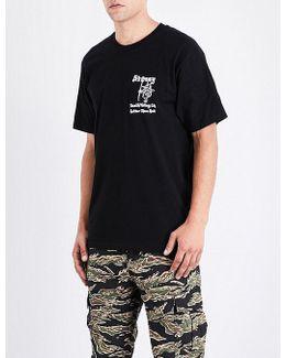 Hotter Than Hell Cotton-jersey T-shirt