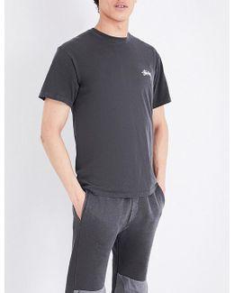 Dice Logo-print Cotton-jersey T-shirt