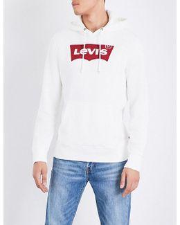 Logo-print Cotton-blend Hoody