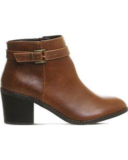 Favour Buckle Strap Boots