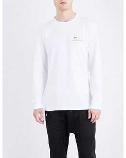 Harumi Yamaguchi Raft Cotton-jersey T-shirt