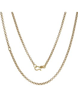 Mythology 18ct Yellow Gold Belcher Chain