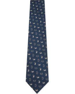Mens Traditional Teardrop Silk Tie