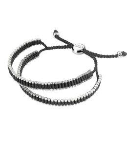 Double Wrap Friendship Bracelet - Black