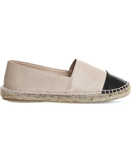 Lucky Leather Espadrilles