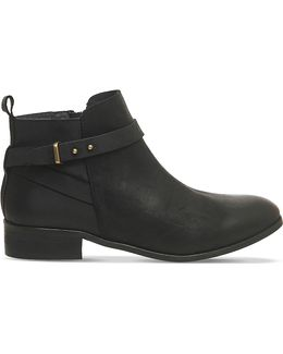 Instinct Leather Ankle Boots