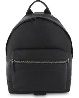 Ganico Trott Leather Backpack