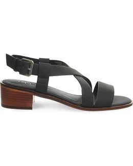 Midtown Cross-over Heeled Sandals