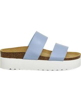 Magnetic Flatform Sandals