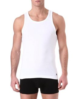 Pack Of Two Cotton Vests