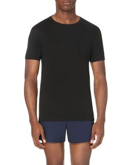 Two Pack Cotton Round-neck T–shirts