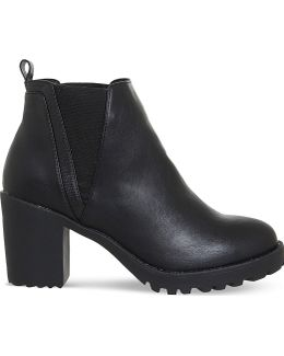 Limit Chunky Faux-leather Chelsea Boots
