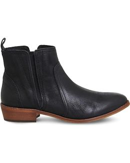 Lone Ranger Leather Chelsea Boots