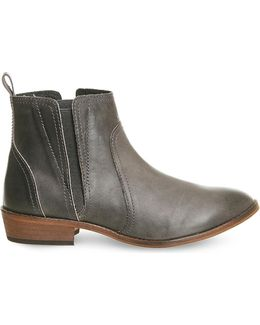Lone Ranger Leather Ankle Boots