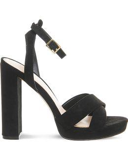 Nickle Suedette Platform Sandals