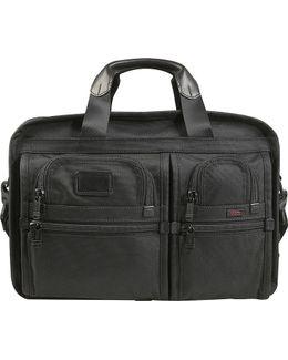Alpha 2 Expanding Organiser Laptop Briefcase