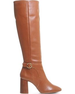 Koko Leather Knee-high Boots