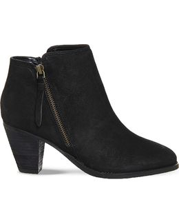 Lately Leather Ankle Boots