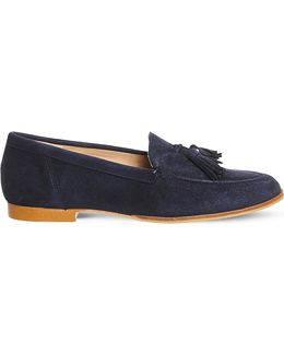 Petra Suede Tassel Loafer