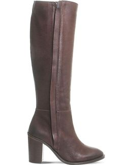 Kaiser Knee-high Leather Boots